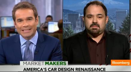 Austen Angell of Modern Edge on Car Design, Bloomberg TV